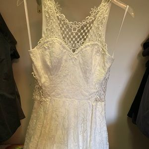 All White very cute lace dress